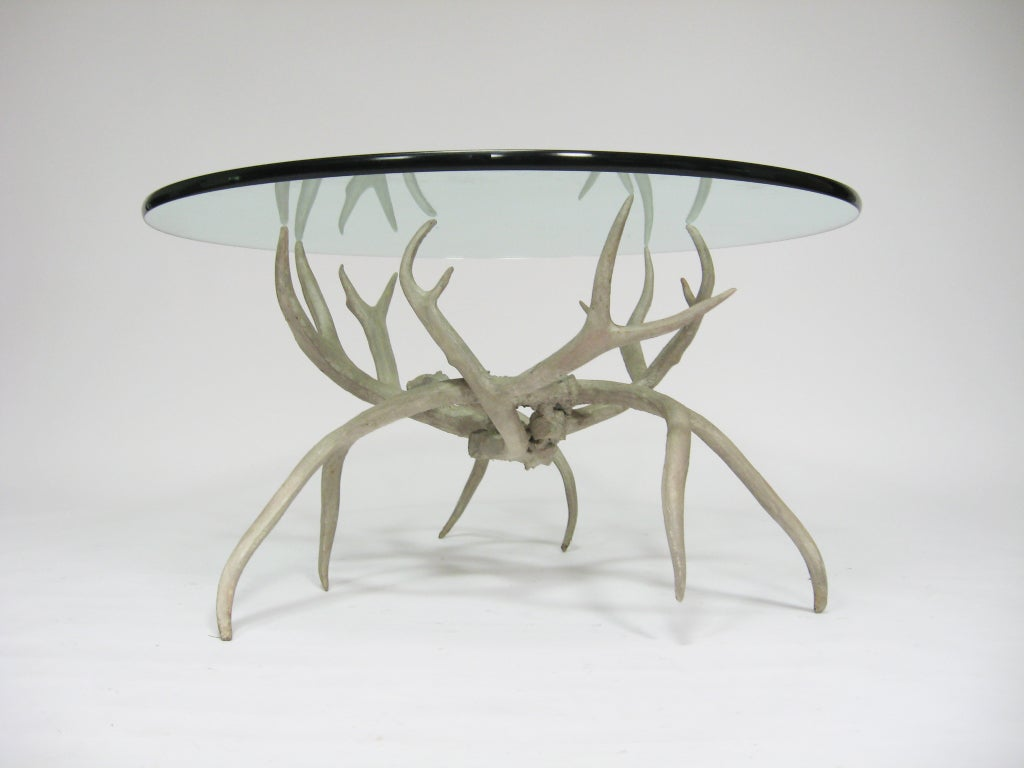 arthur court aluminum antler cocktail table is no longer available
