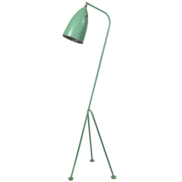 greta grossman grasshopper lamp at 1stdibs