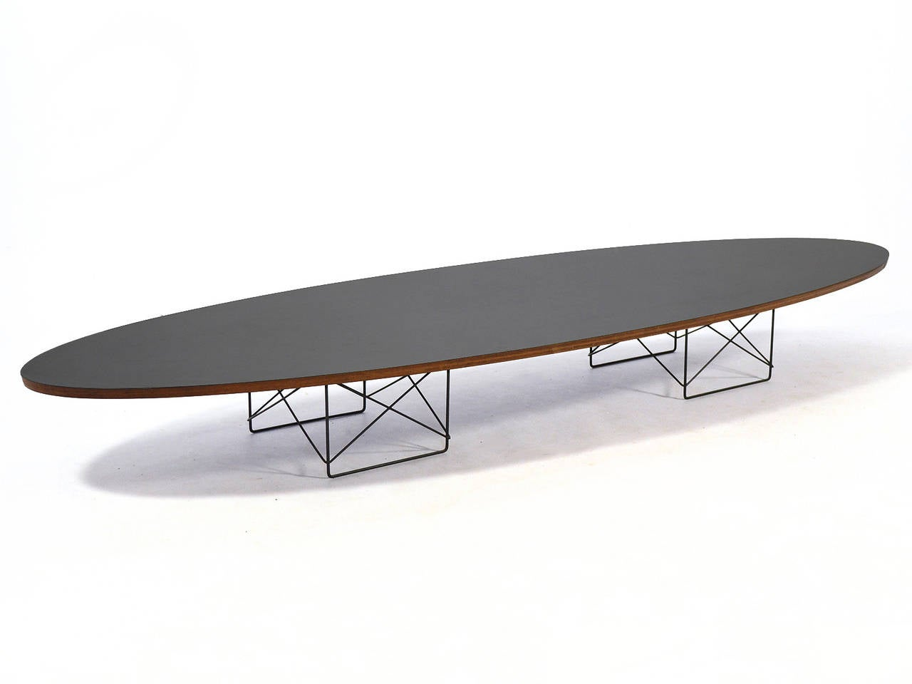 Eames etr surfboard coffee table by herman miller at 1stdibs One of a kind coffee tables