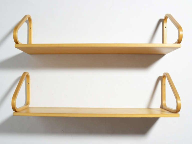 Alvar Aalto Wall Mounted Shelves Image 3