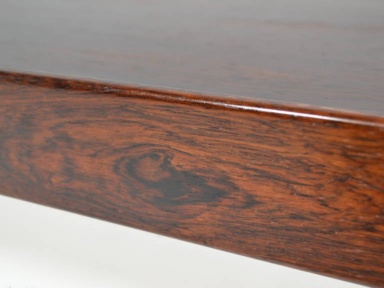 """Rosewood """"Krobo"""" Bench by Torbjørn Afdal for Bruksbo Norway In Good Condition For Sale In Highland, IN"""