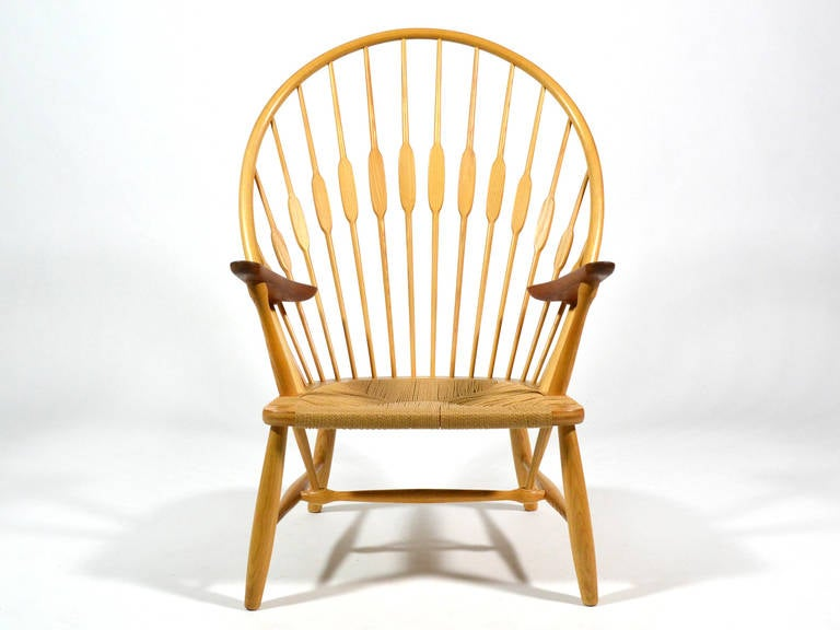 Hans Wegner Peacock Chair by Johannes Hansen 2