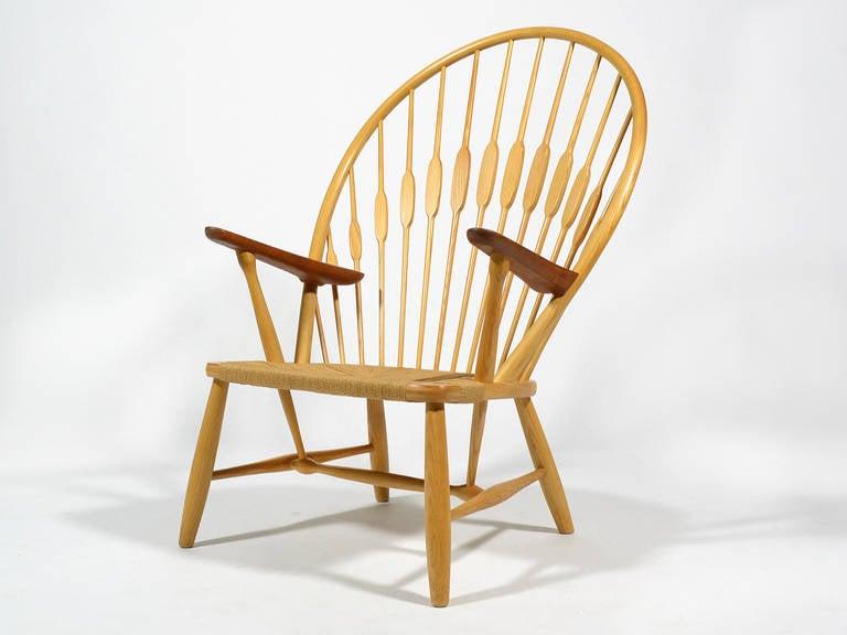 Hans Wegner Peacock Chair by Johannes Hansen 3