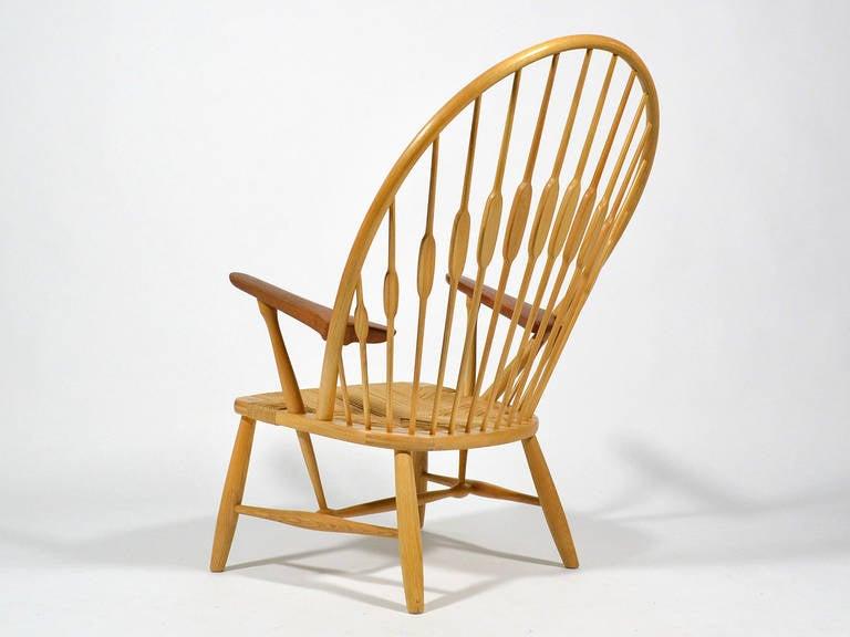 Hans Wegner Peacock Chair by Johannes Hansen 4
