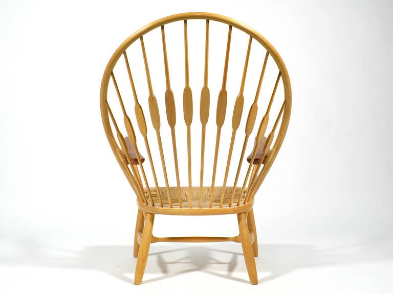 Hans Wegner Peacock Chair by Johannes Hansen 5