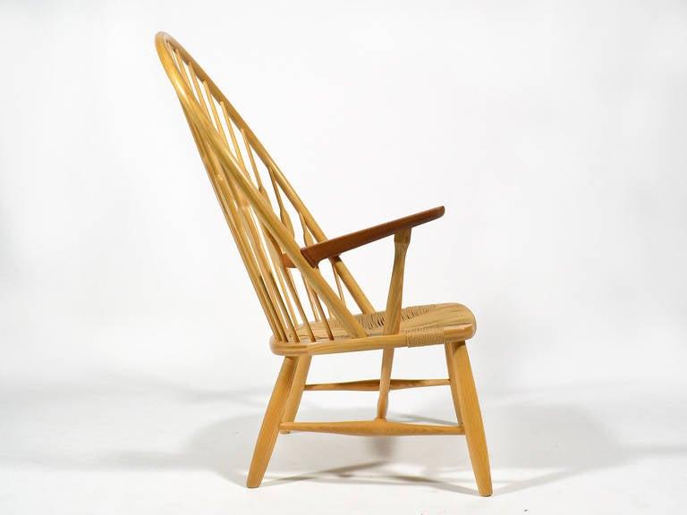 Hans Wegner Peacock Chair by Johannes Hansen 6