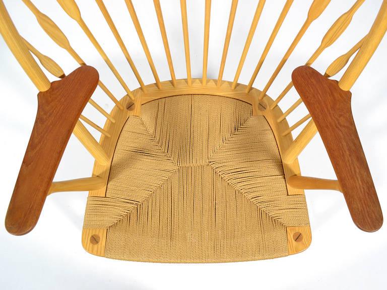 Hans Wegner Peacock Chair by Johannes Hansen 8
