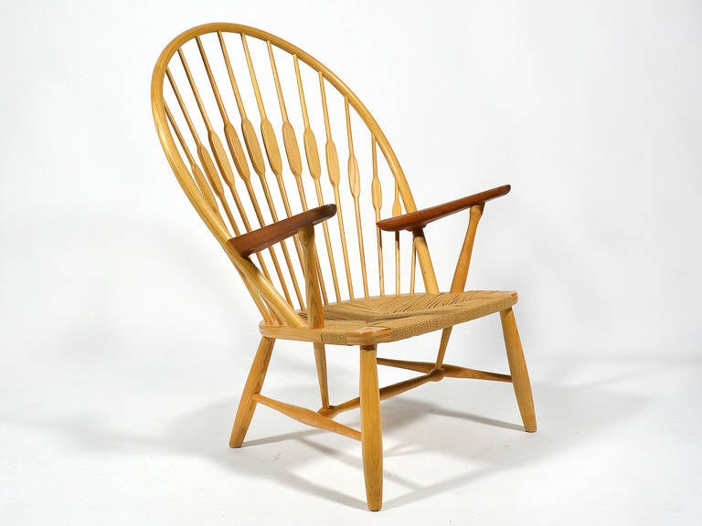 Hans Wegner Peacock Chair by Johannes Hansen 10