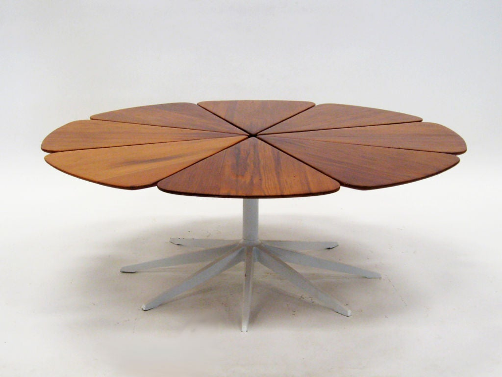 Richard Schultz Redwood Petal Coffee Table By Knoll At 1stdibs