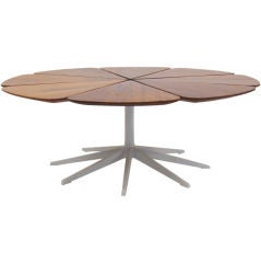 Richard Schultz redwood petal coffee table by Knoll