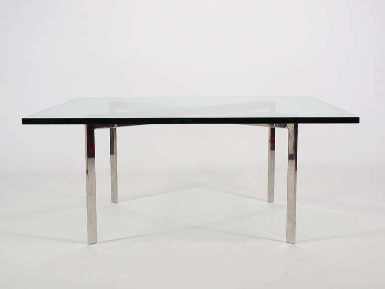 Ludwig mies van der rohe stainless steel barcelona table by knoll for sale at - Barcelona table knoll ...