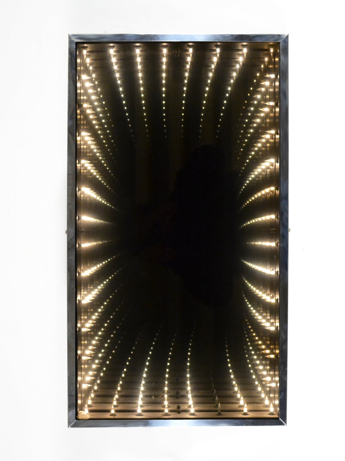 Op Art Infinity Mirror At 1stdibs