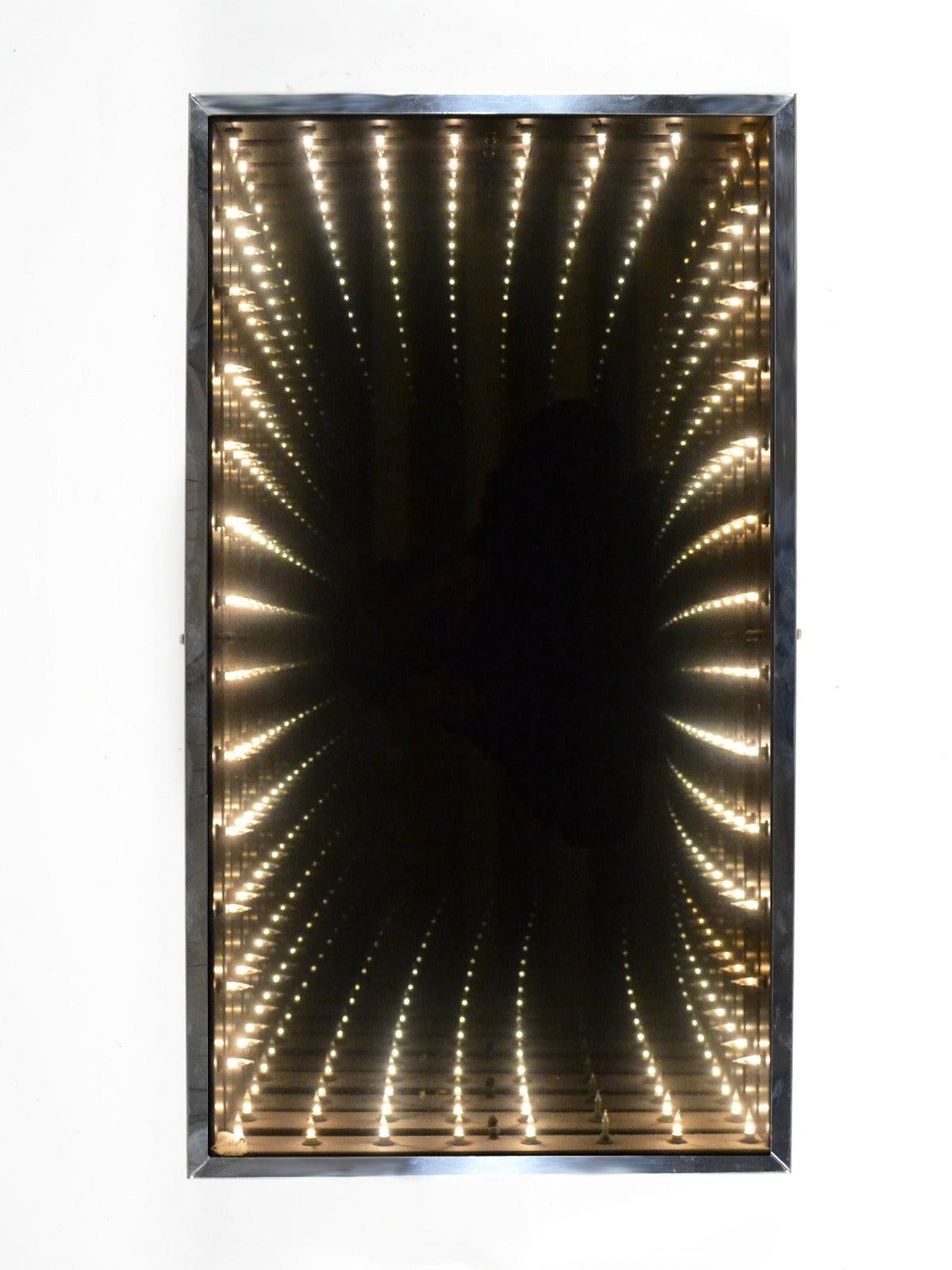 Op Art u201cInfinityu201d Mirror at 1stdibs