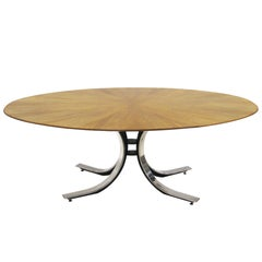 Osvaldo Borsani Style Dining or Conference Table