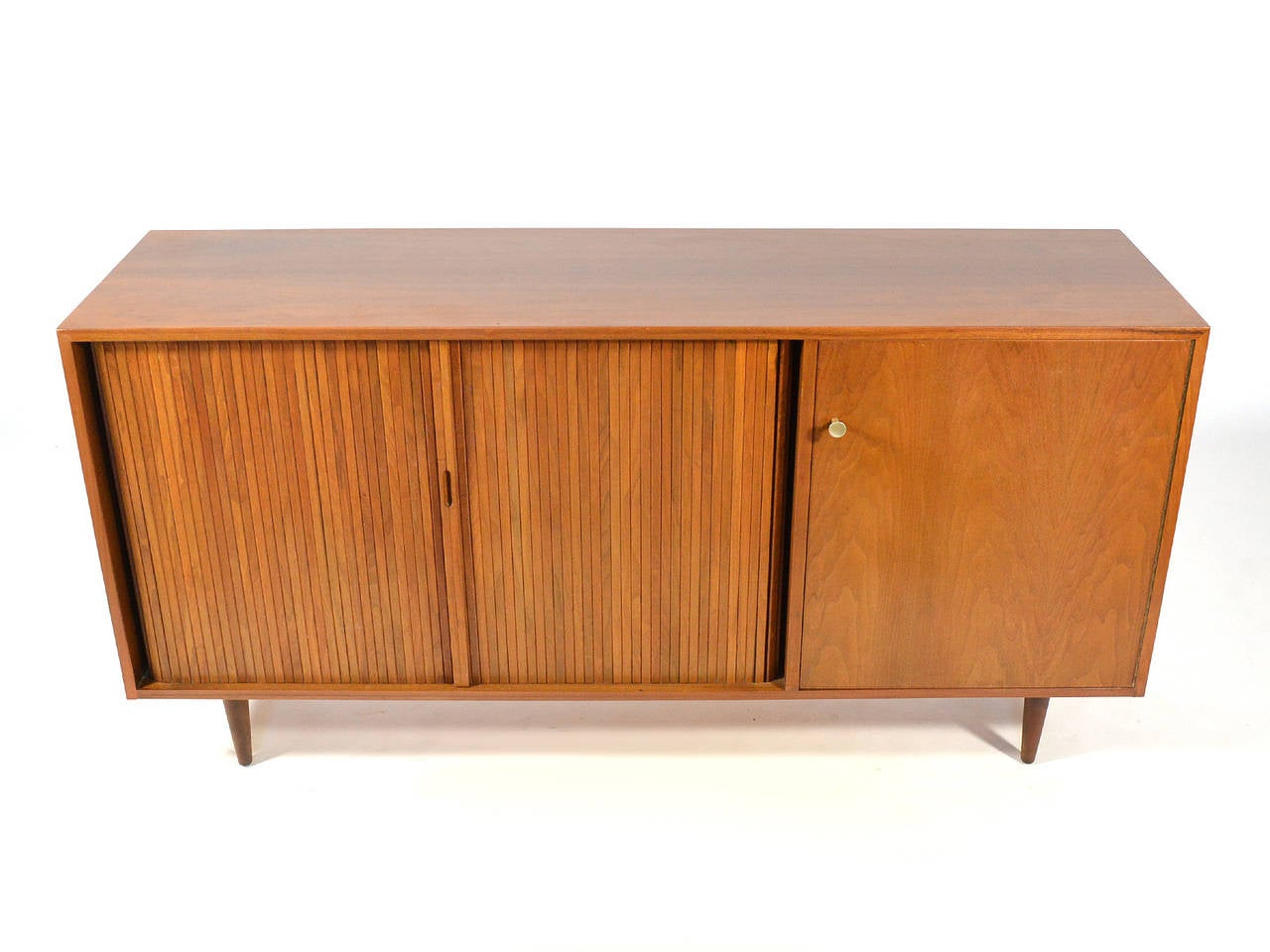Milo Baughman Credenza by Glenn of California In Good Condition For Sale In Highland, IN