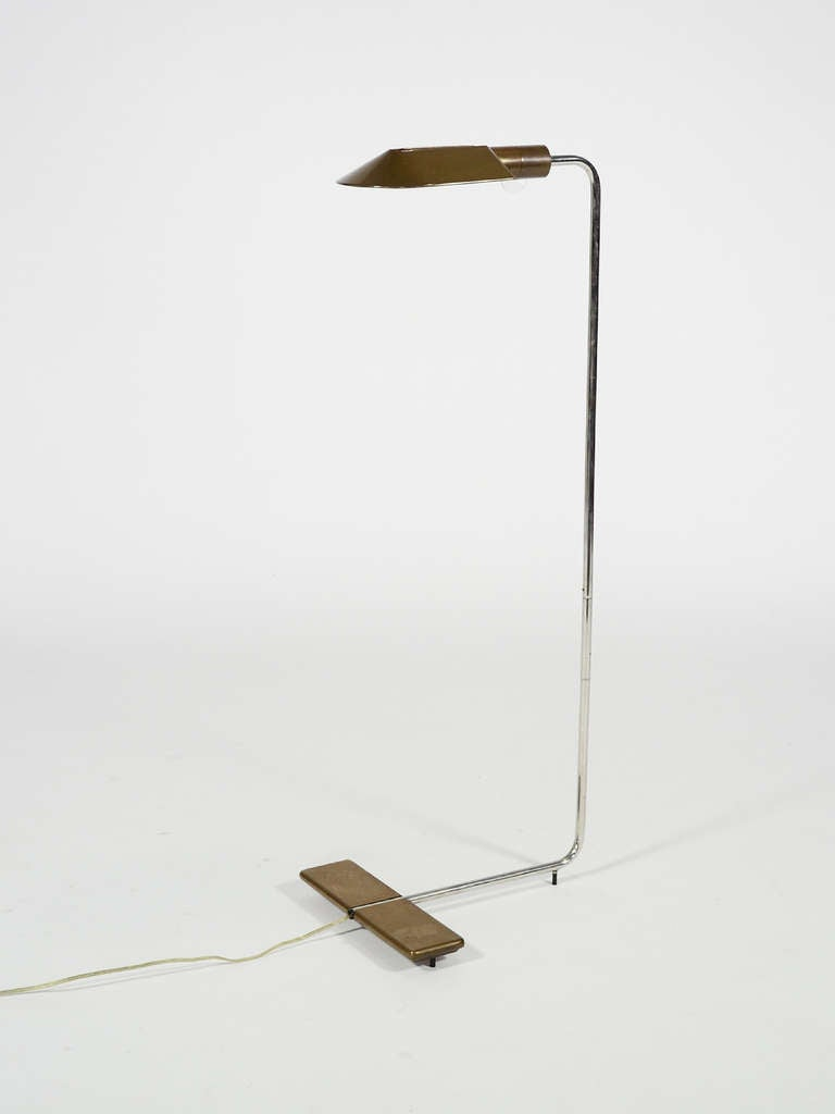 Floor reading lamp by cedric hartman at 1stdibs for Floor lamps reading lights