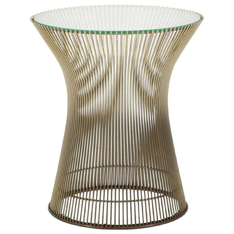 Warren platner side table by knoll at 1stdibs for Table warren platner