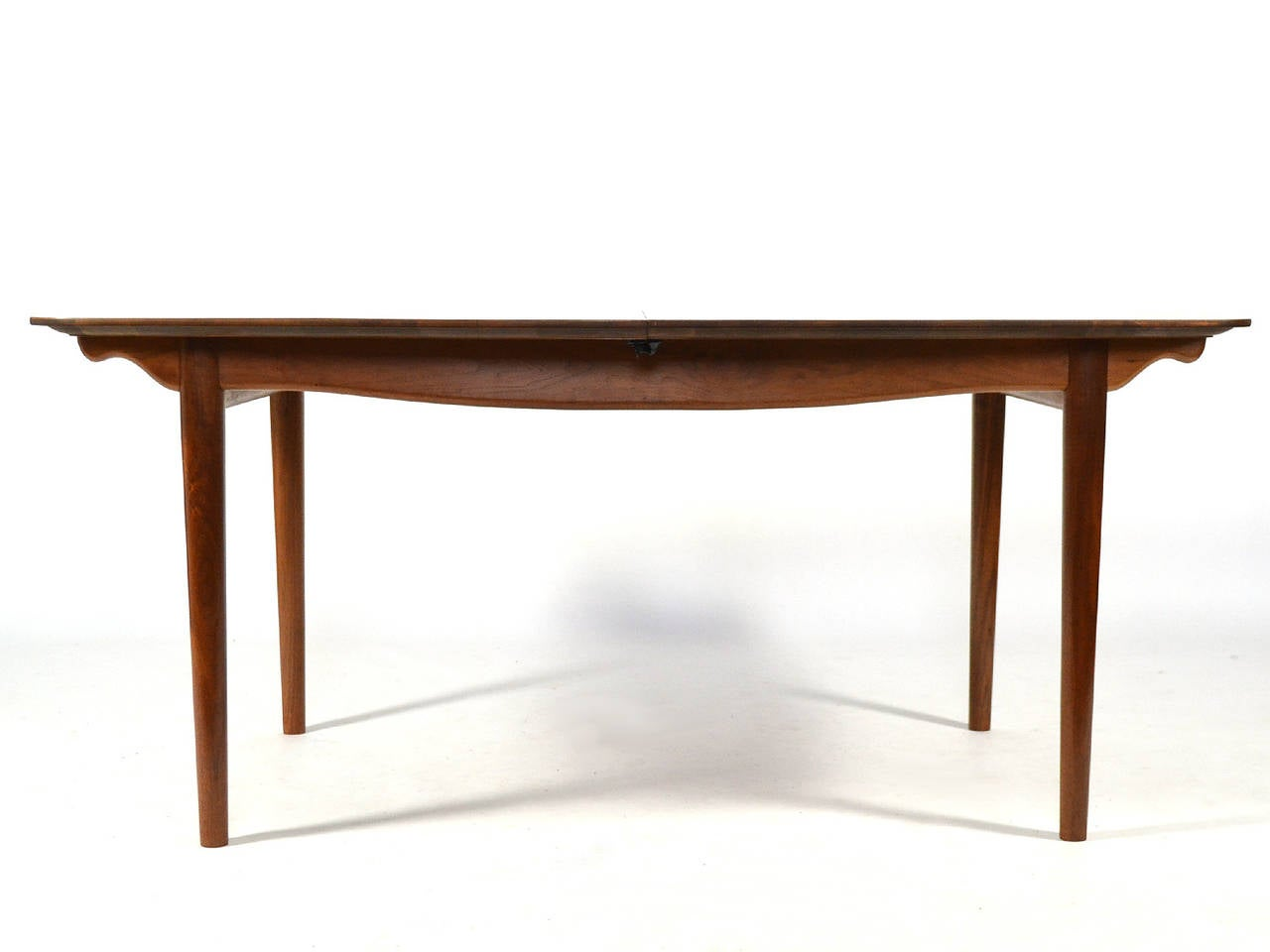 Finn Juhl Dining Table and Chairs In Excellent Condition For Sale In Highland, IN