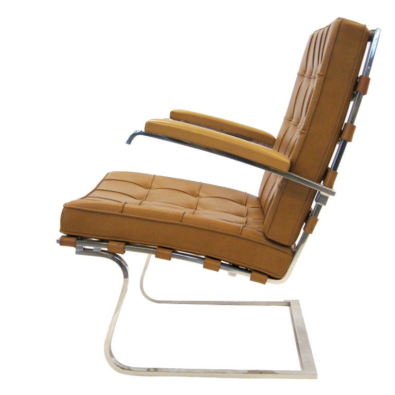 ludwig mies van der rohe tugendhat lounge chair by knoll at 1stdibs. Black Bedroom Furniture Sets. Home Design Ideas