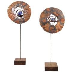 """""""Lunar Blooms"""" Sculptures by James Bearden"""