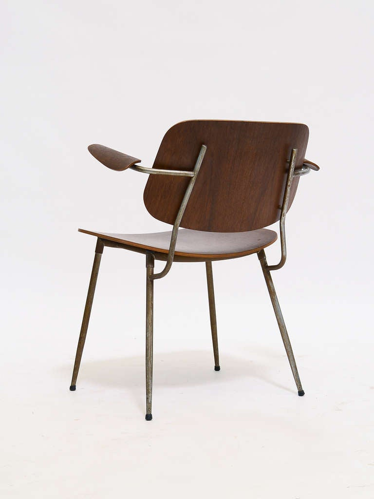 Børge Mogensen Armchair In Good Condition For Sale In Highland, IN