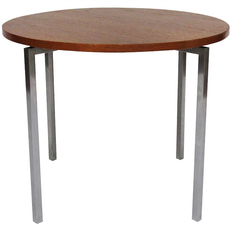 Florence Knoll Side/ End Table by Knoll For Sale