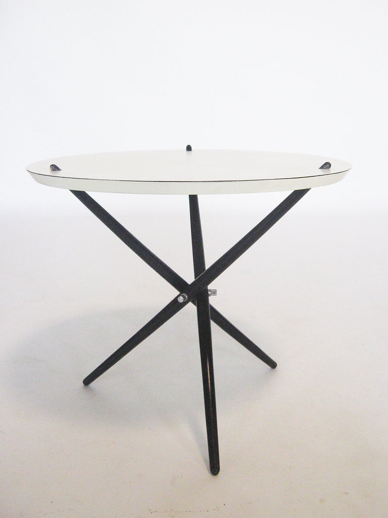 Hans Bellman Tripod Table By Knoll At 1stdibs