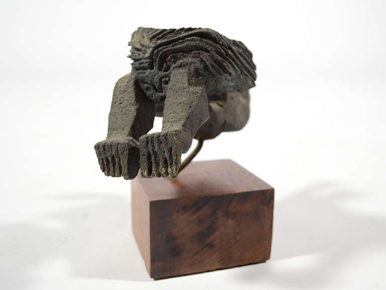 Bronze Female Nude Sculpture by Paolo Soleri For Sale 2