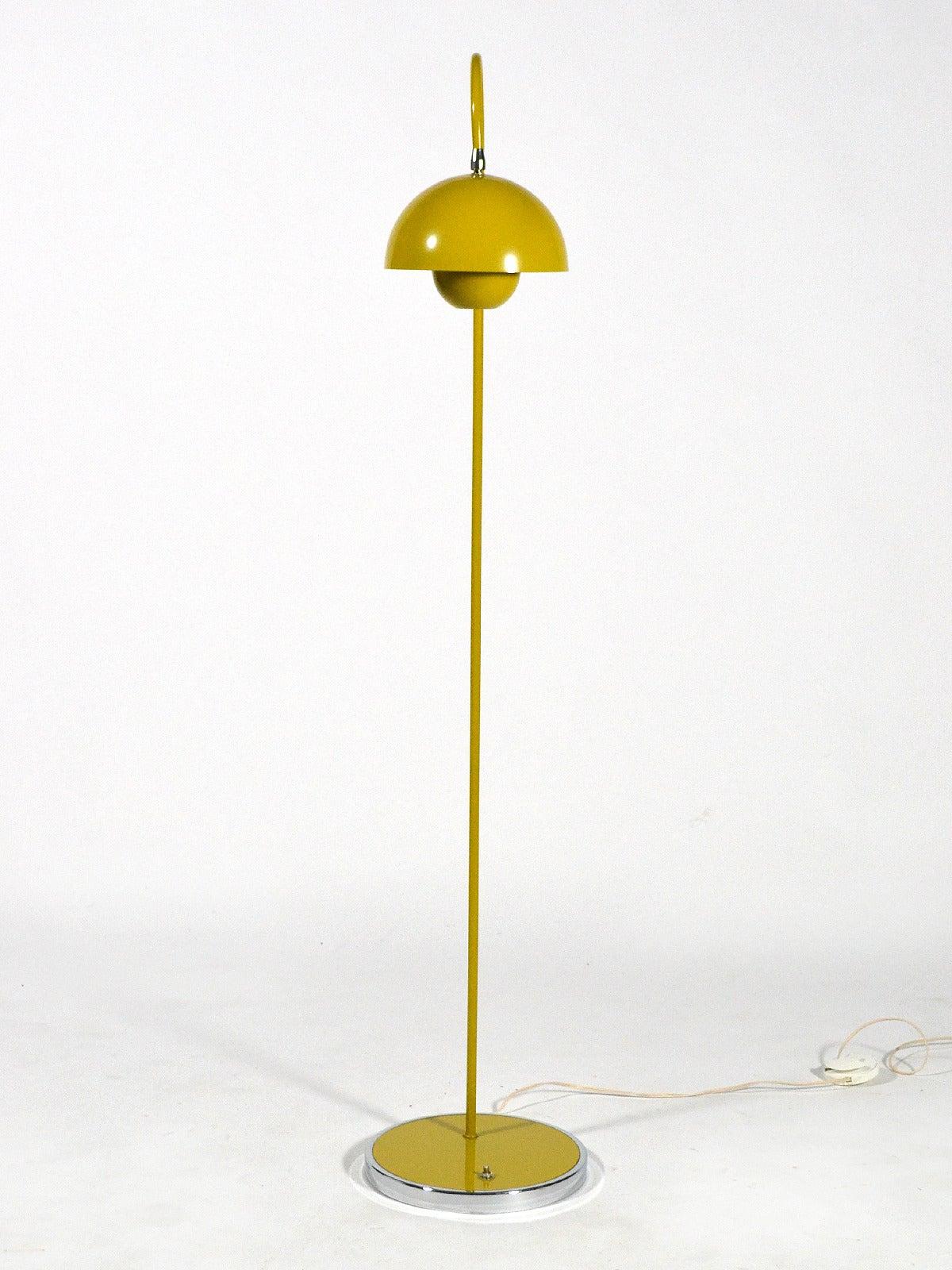 Verner Panton Flower Pot Floor Lamp At 1stdibs