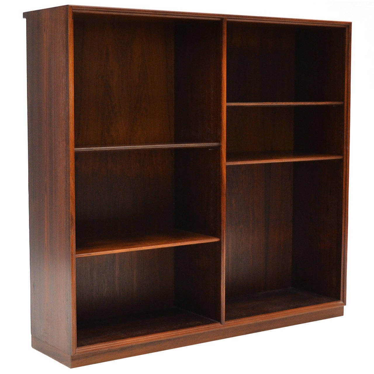 Danish Modern Bookcase In Rosewood For Sale At 1stdibs