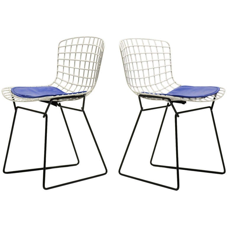 Pair Of Bertoia Childu0027s Chairs By Knoll 1