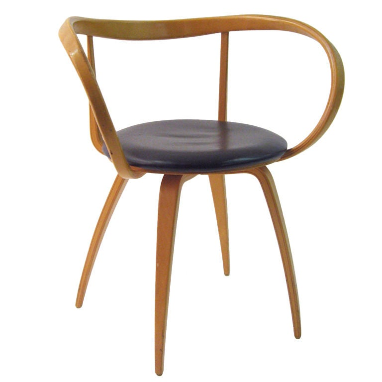 however the pretzel chair designed