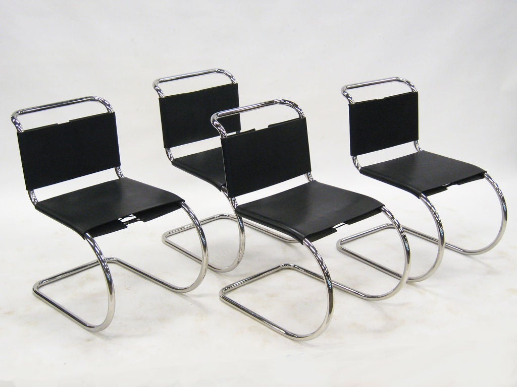 Ludwig mies van der rohe mr chairs by knoll for sale at for Van der rohe furniture