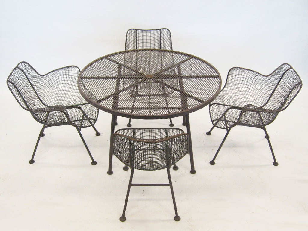 Russell Woodard Quot Sculptura Quot Table And Chair Set At 1stdibs