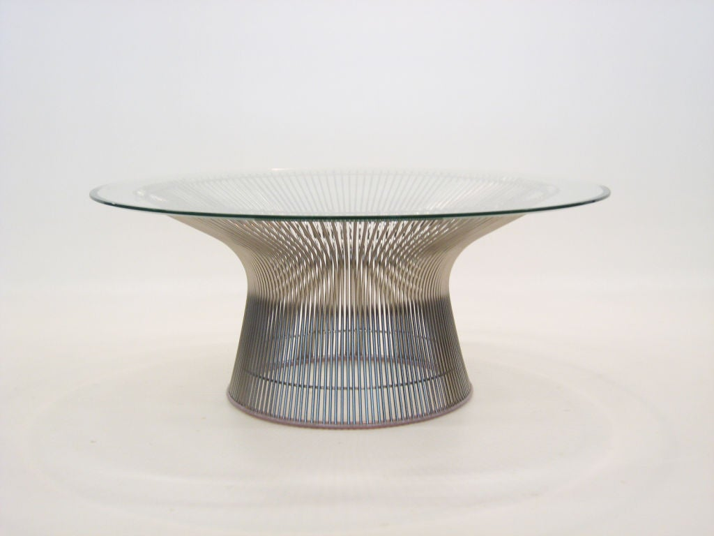 this warren platner coffee table by knoll is no longer available