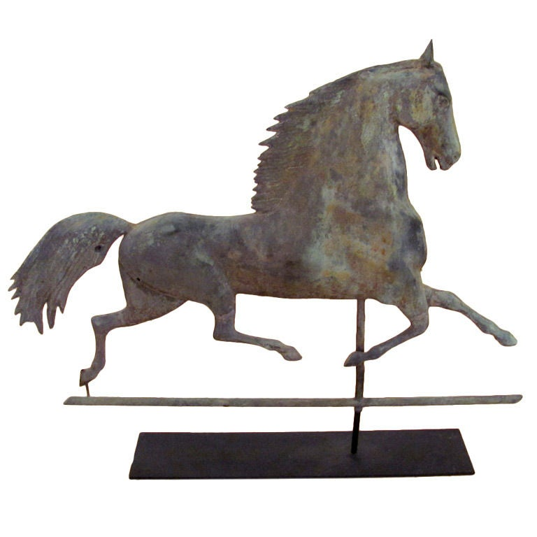 Large Sherman Blackhawk Weathervane | Possibly Harris & Co., MA