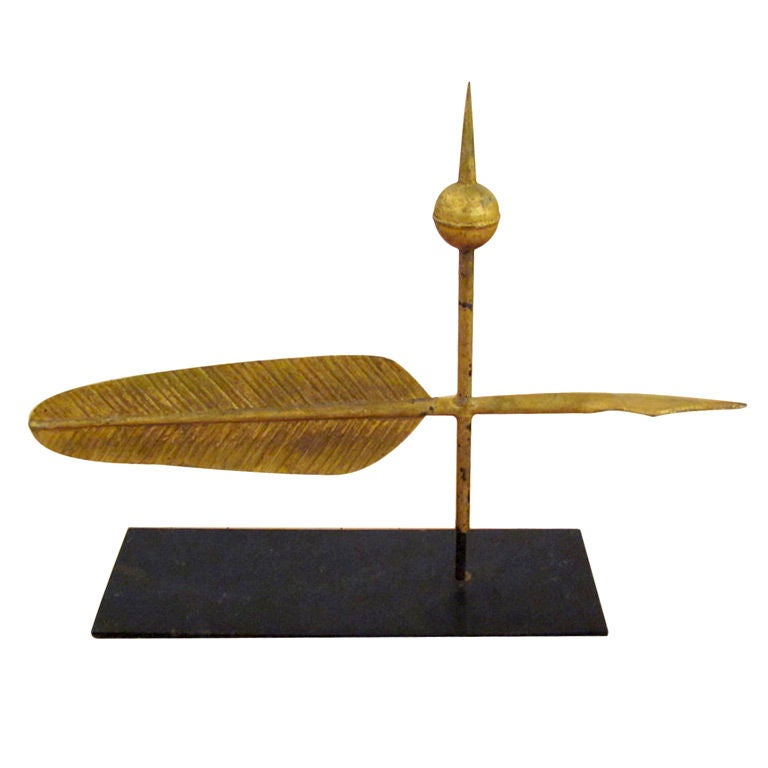Quill Weathervane | Possibly J.W. Fiske est. 1875, NYC