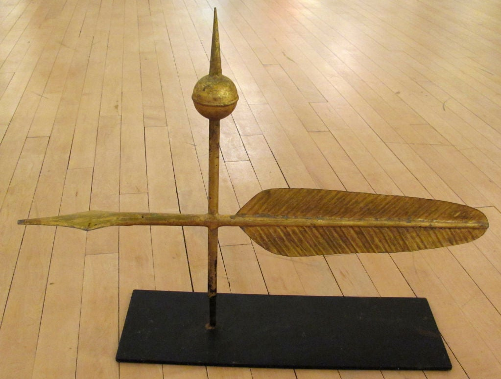 Quill Weathervane | Possibly J.W. Fiske est. 1875, NYC image 3