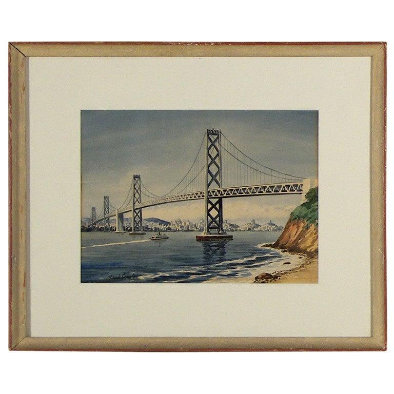 """""""Bay Bridge"""" by Frank Serratoni"""
