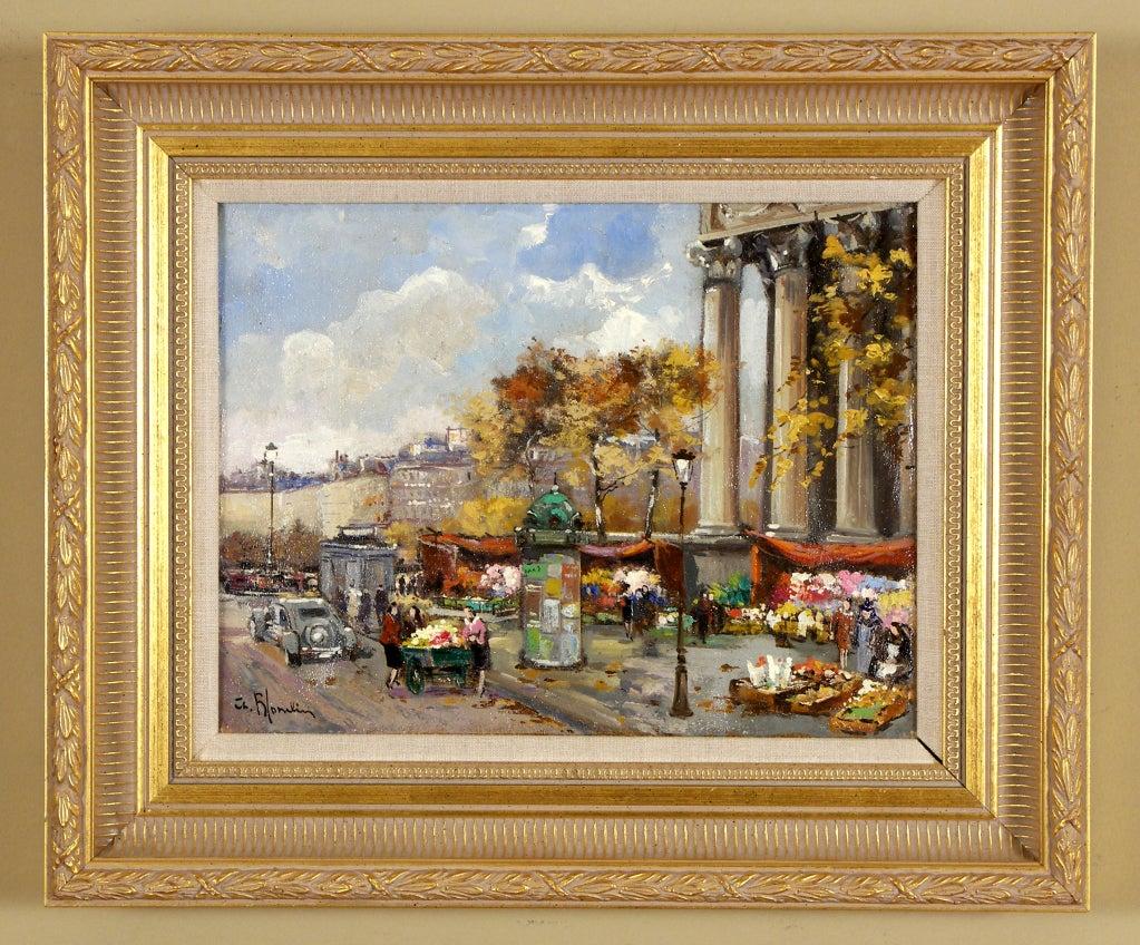 """""""Marche aux Fleurs, Madeleine"""" by Charles Blondin"""