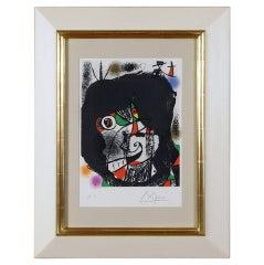 """Les Revolutions Sceniques du XX Siecles I"" by Joan Miro"