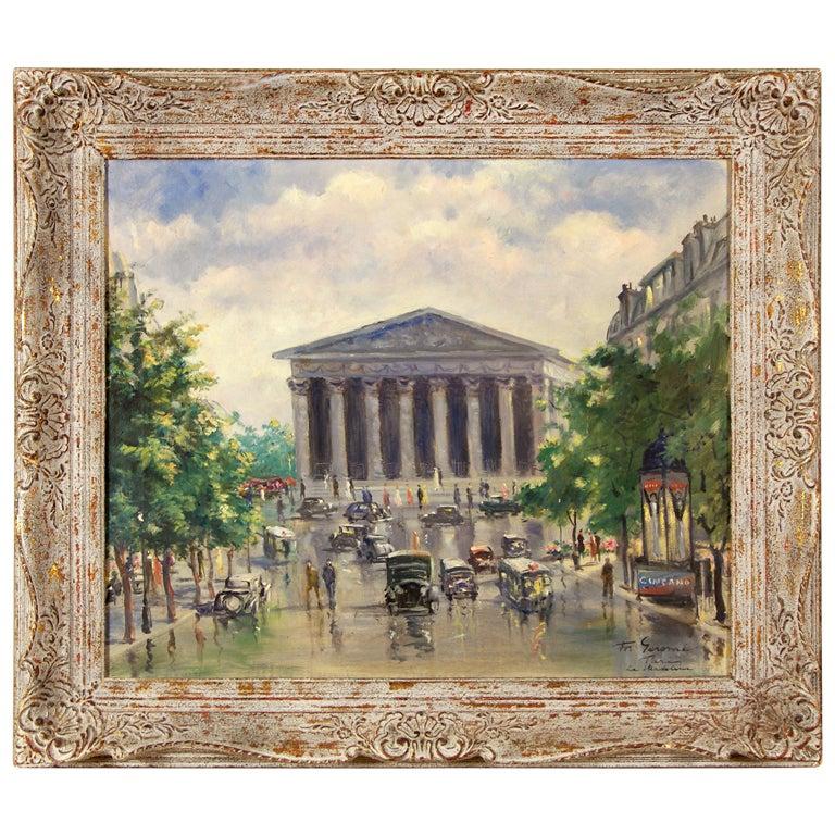 """""""La Madelain, Paris"""" by Francois Gerome"""