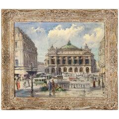 """""""Theatre De L'Opera, Paris"""" by Francois Gerome"""