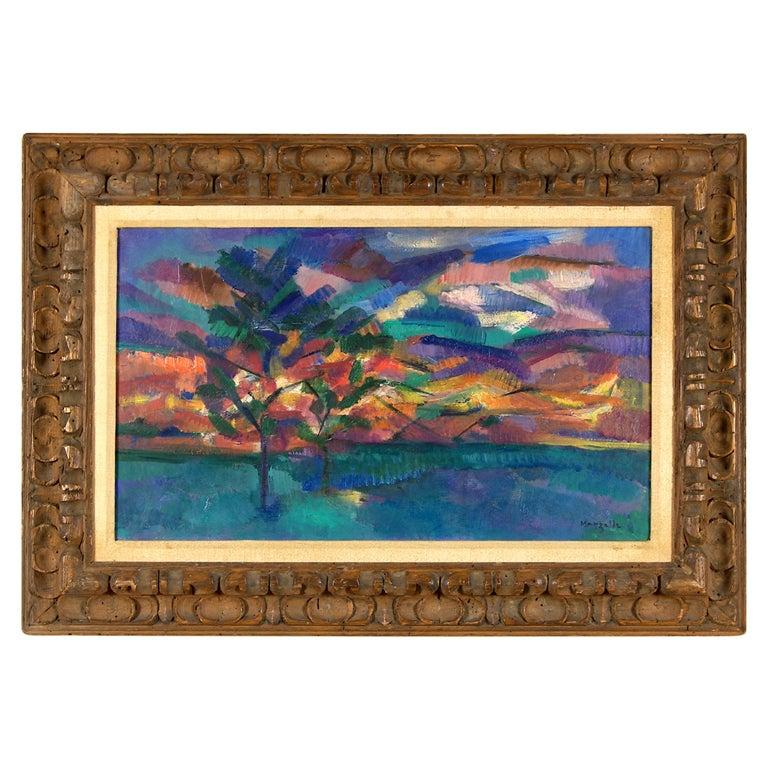 """Abstract Landscape"" by Jean Marzelle"