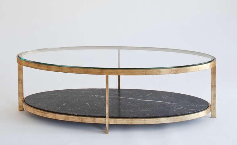 renzo elliptical cocktail table for sale at 1stdibs. Black Bedroom Furniture Sets. Home Design Ideas