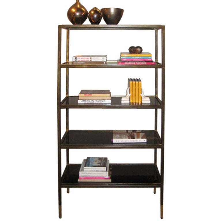 Hoffman etagere at 1stdibs - Etagere cases carrees ...