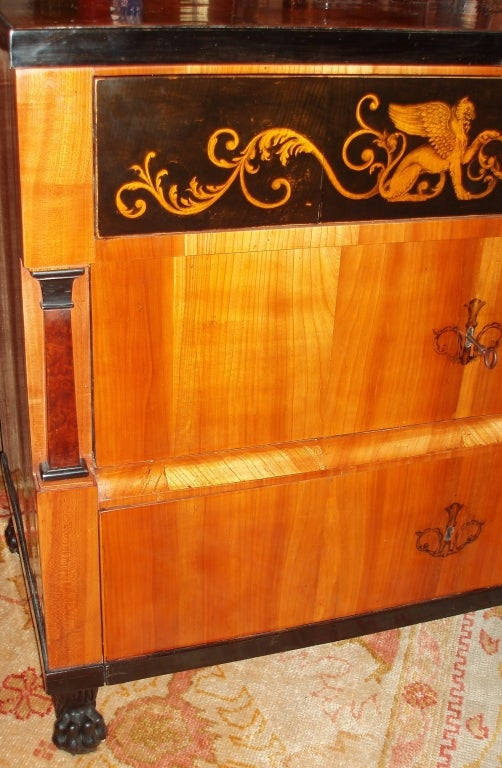 Biedermeier Chest of Drawers In Good Condition For Sale In Palm Beach, FL
