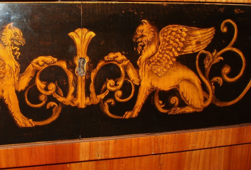 19th Century Biedermeier Chest of Drawers For Sale