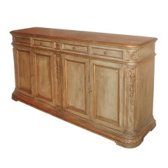 Hand-Finished Italian Style Enfilade