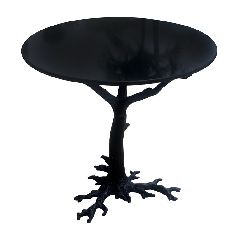 Faux bois base table for sale at 1stdibs Table jardin imitation bois